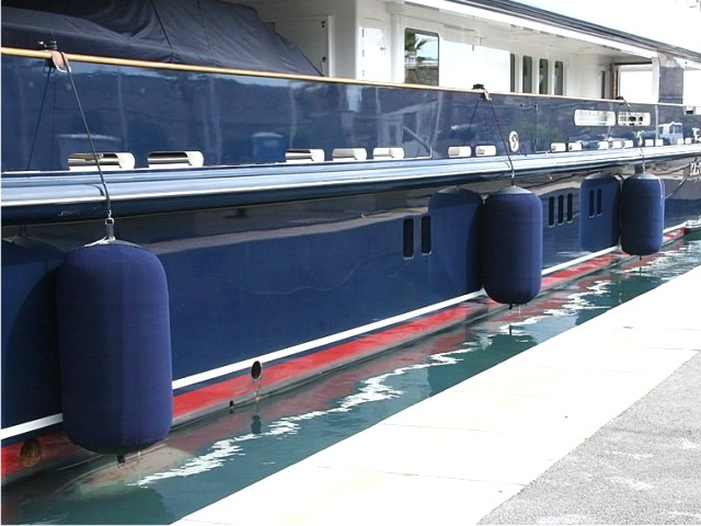 Ship fenders from the SBS company