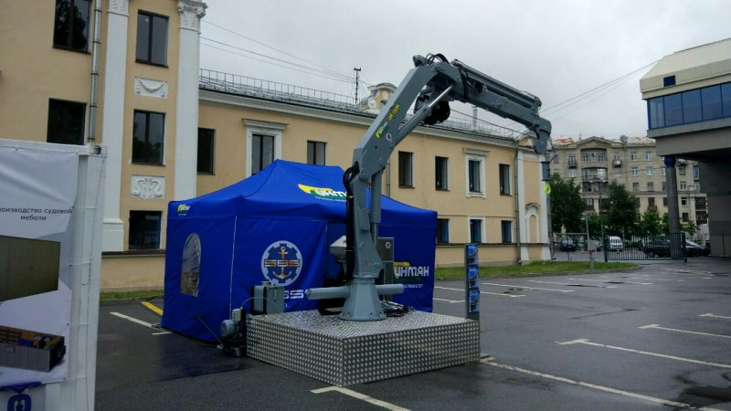 CMU Palfinger. Crane-manipulator installations at the best prices from the SBS company.